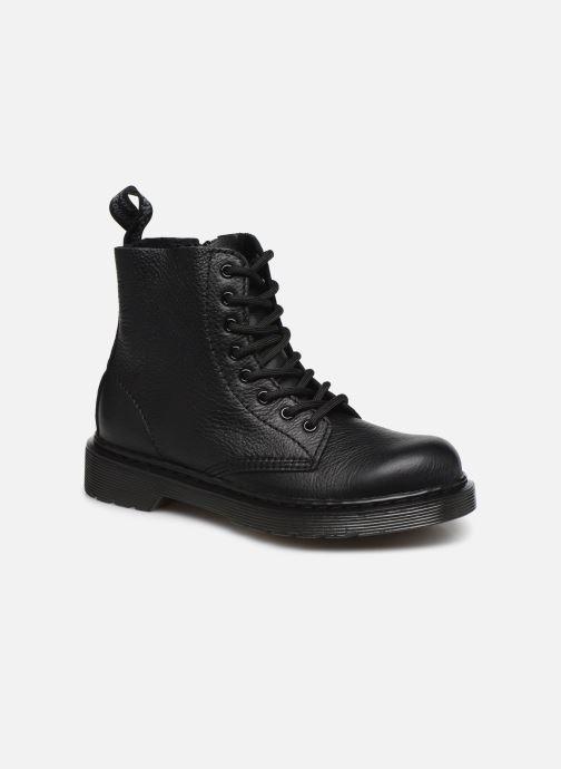 Bottines et boots Dr. Martens 1460 Pascal Mono J Noir vue détail/paire