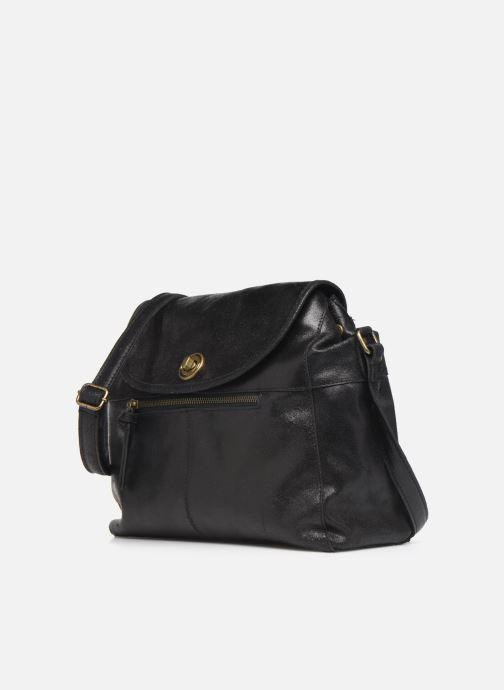 Handtaschen Pieces Coco Leather Crossbody schwarz schuhe getragen