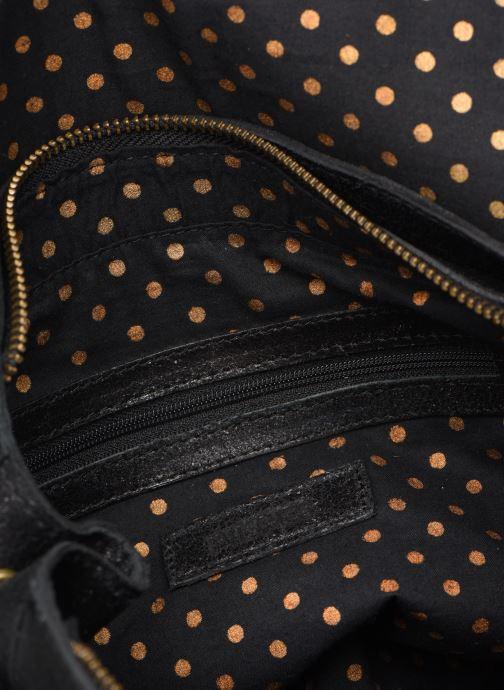 Handtaschen Pieces Coco Leather Crossbody schwarz ansicht von hinten