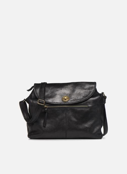 Handtassen Pieces Coco Leather Crossbody Zwart detail
