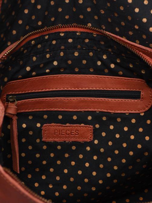 Borse Pieces Coco Leather Crossbody Rosso immagine posteriore