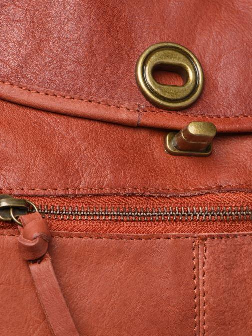 Borse Pieces Coco Leather Crossbody Rosso immagine sinistra