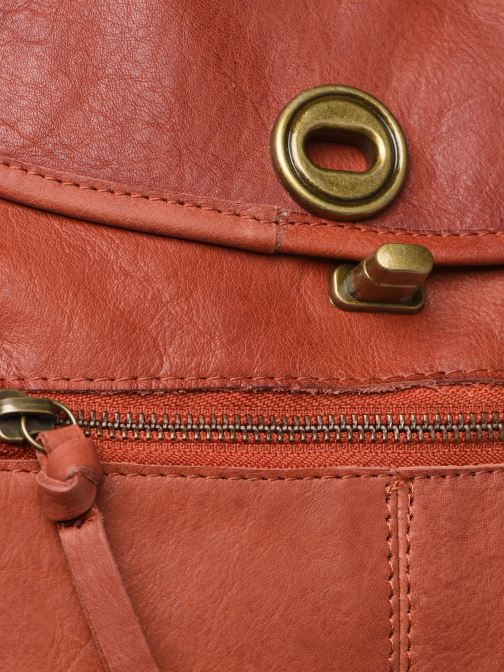 Sacs à main Pieces Coco Leather Crossbody Rouge vue gauche