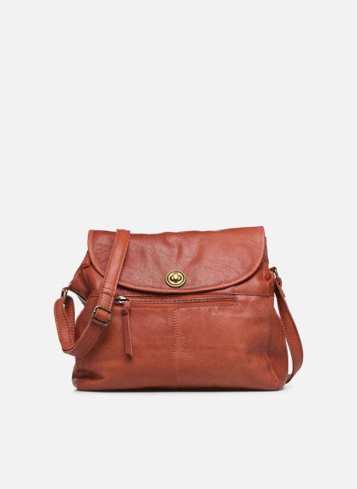 Borse Pieces Coco Leather Crossbody Rosso vedi dettaglio/paio