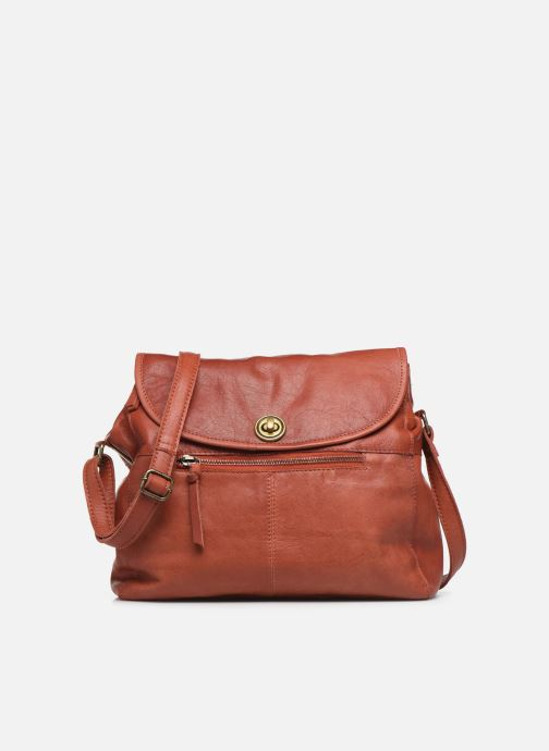 Handtassen Pieces Coco Leather Crossbody Rood detail
