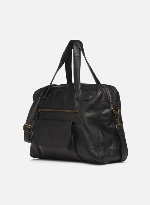 Handtassen Pieces Collina Leather Bag Zwart model