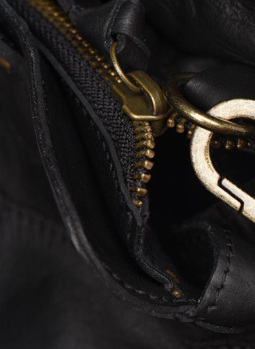 Sacs à main Pieces Cora Leather Daily Bag Noir vue gauche