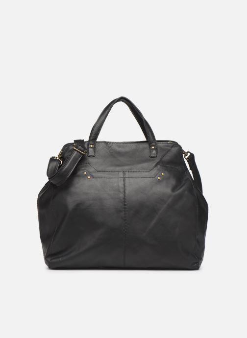 Bolsos de mano Pieces Cora Leather Daily Bag Negro vista de detalle / par