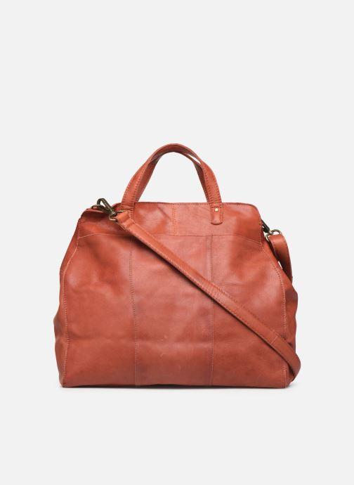 Handtassen Pieces Cora Leather Daily Bag Rood voorkant