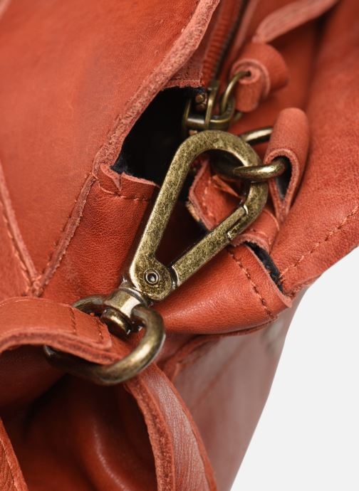 Handtassen Pieces Cora Leather Daily Bag Rood links