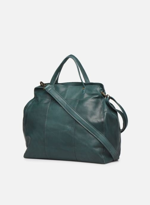 Sacs à main Pieces Cora Leather Daily Bag Vert vue droite