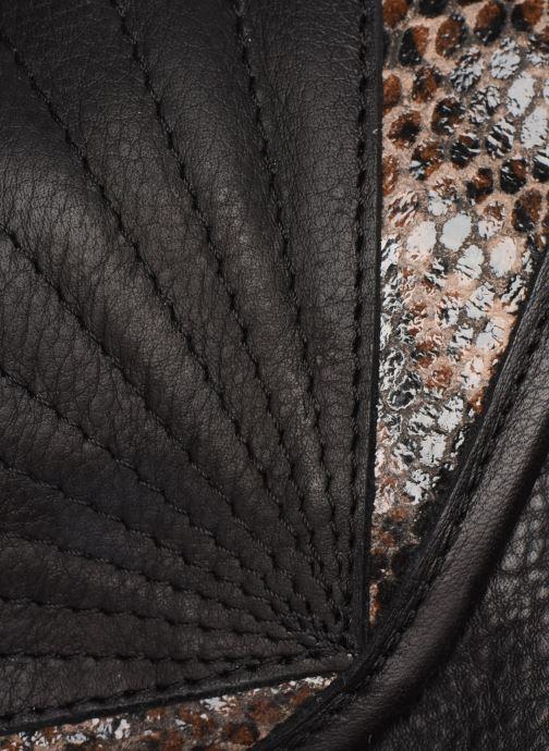 Handtassen Pieces Conner Leather Crossbody Zwart links
