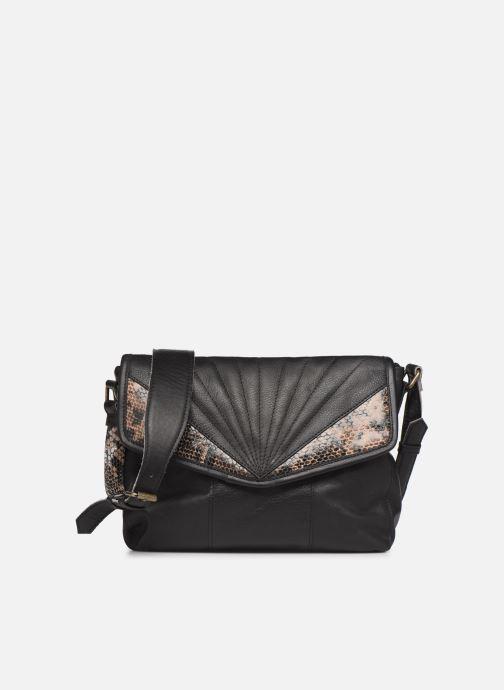 Bolsos de mano Pieces Conner Leather Crossbody Negro vista de detalle / par