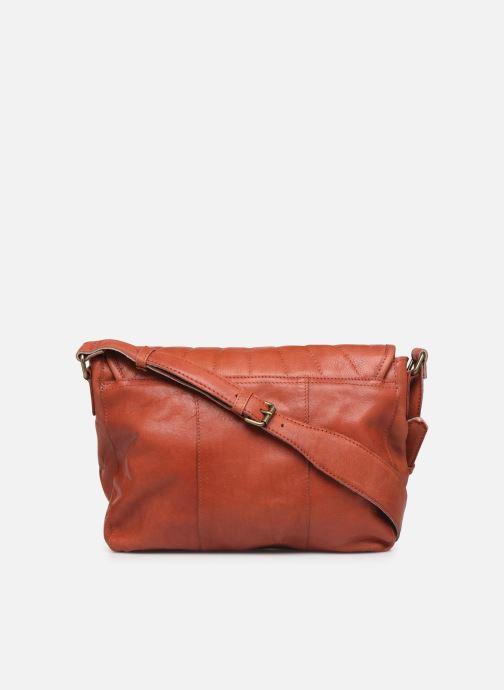Sacs à main Pieces Conner Leather Crossbody Orange vue face