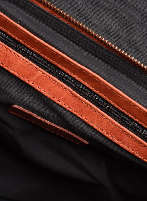 Sacs à main Pieces Conner Leather Crossbody Orange vue derrière