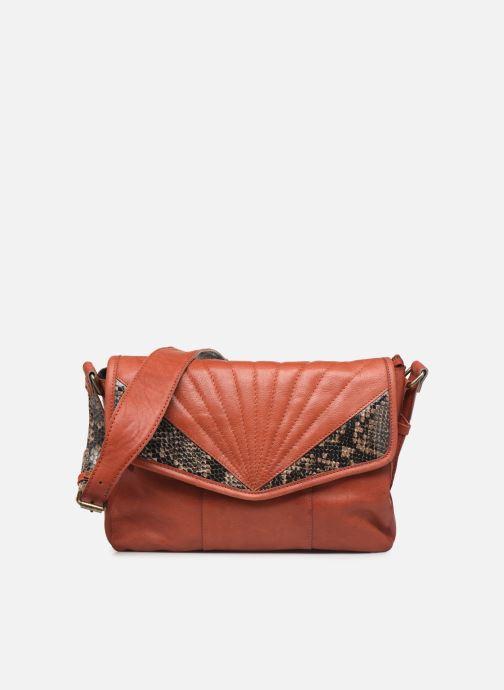 Sacs à main Pieces Conner Leather Crossbody Orange vue détail/paire