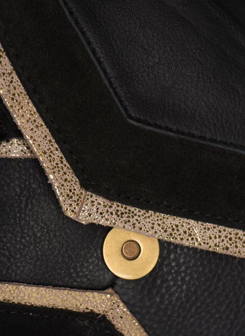 Sacs à main Pieces Cornelia Leather Crossbody Noir vue gauche