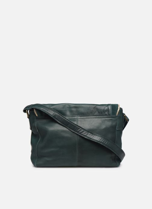 Sacs à main Pieces Cornelia Leather Crossbody Vert vue face