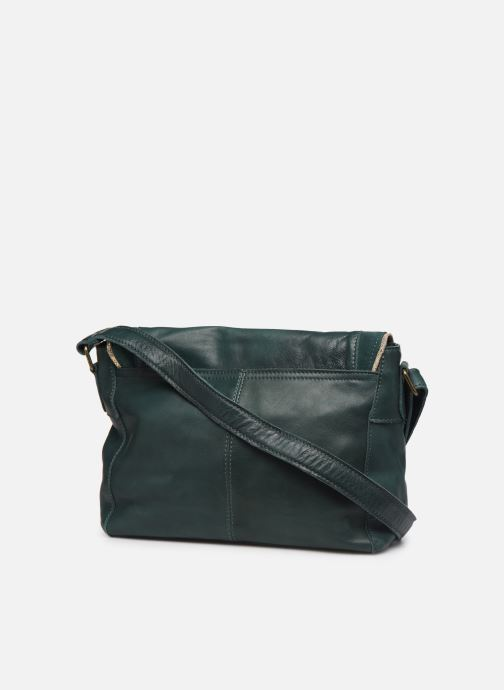 Sacs à main Pieces Cornelia Leather Crossbody Vert vue droite