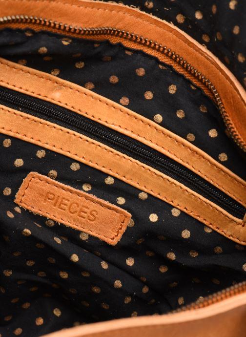 Sacs à main Pieces Cornelia Leather Crossbody Marron vue derrière
