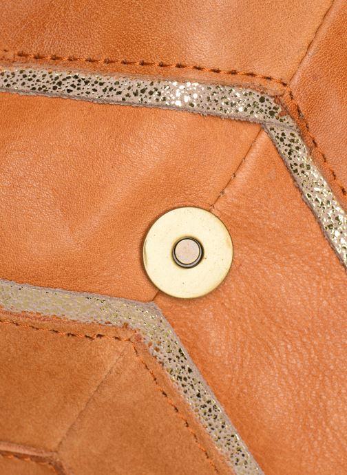 Sacs à main Pieces Cornelia Leather Crossbody Marron vue gauche