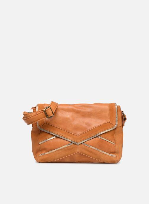 Sacs à main Pieces Cornelia Leather Crossbody Marron vue détail/paire
