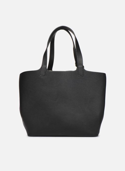 Handtassen Pieces Kopa Shopper Zwart voorkant