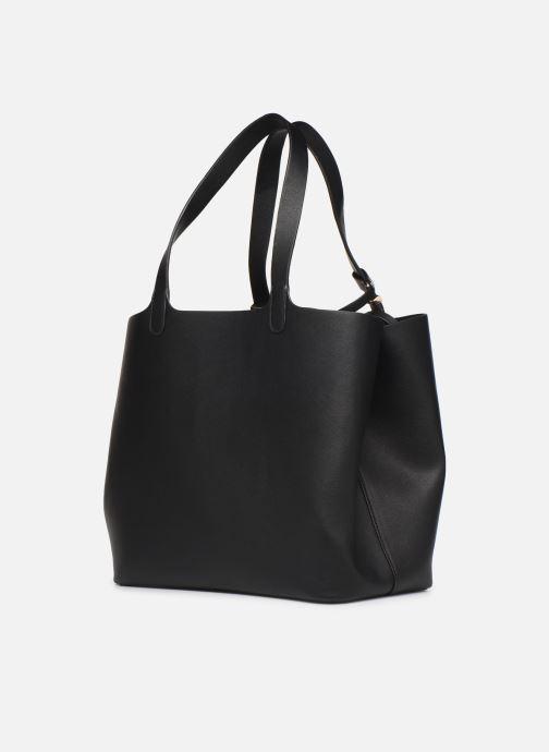 Handtassen Pieces Kopa Shopper Zwart rechts