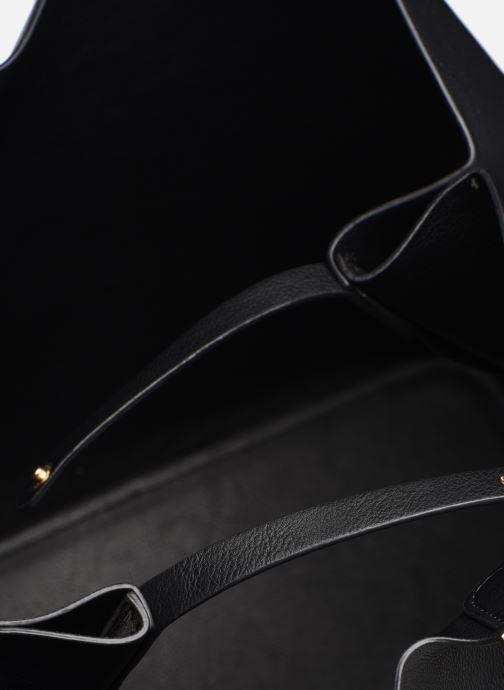 Handtassen Pieces Kopa Shopper Zwart achterkant