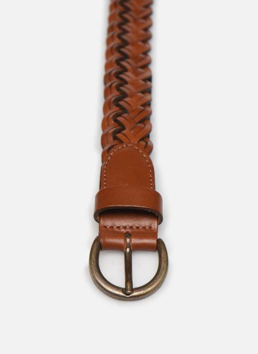 Gürtel Pieces AYA LEATHER JEANS BELT 2,3cm braun schuhe getragen