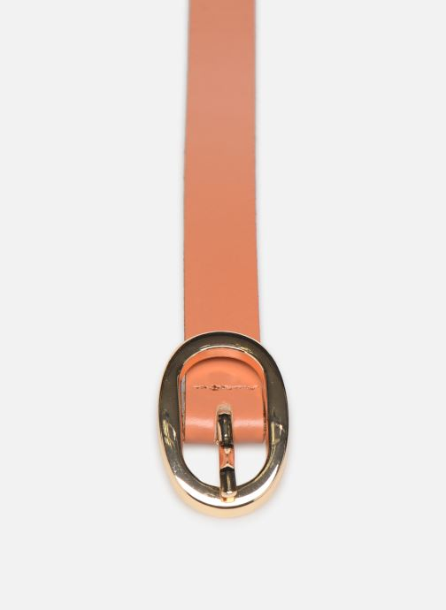 Riemen Pieces ANA LEATHER JEANS BELT 2 cm Bruin model