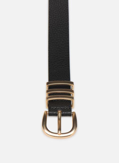 Cinturones Pieces LEA JEANS BELT Negro vista del modelo