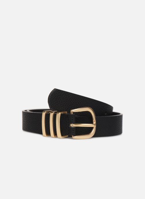 Cinturones Pieces LEA JEANS BELT Negro vista de detalle / par