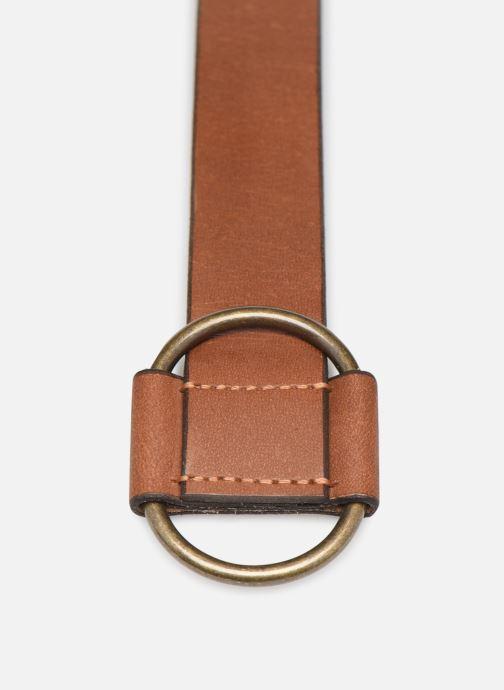 Cinturones Pieces PILJA LEATHER JEANS BELT 3,2cm Marrón vista del modelo