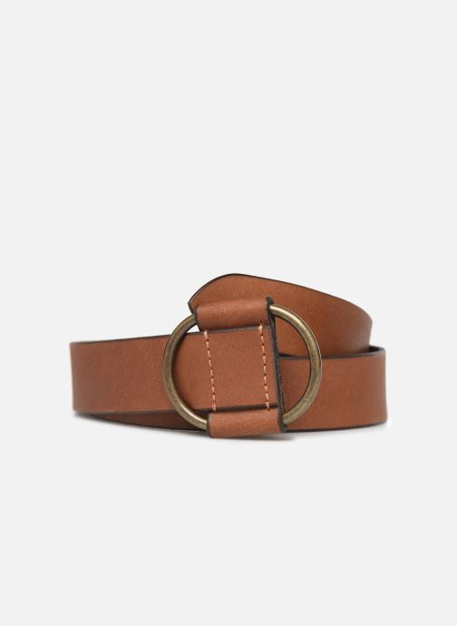 Riemen Pieces PILJA LEATHER JEANS BELT 3,2cm Bruin detail