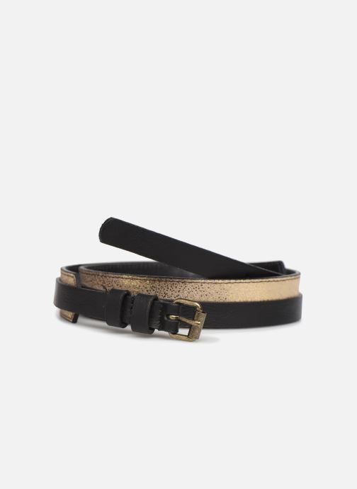 Riemen Pieces HAILEY LEATHER JEANS BELT 3 cm Zwart detail