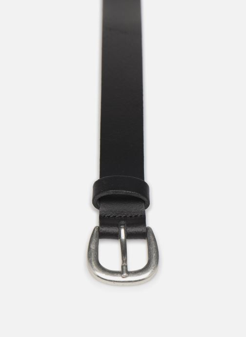 Riemen Pieces LICIA LEATHER JEANS BELT 2,3 cm Zwart model