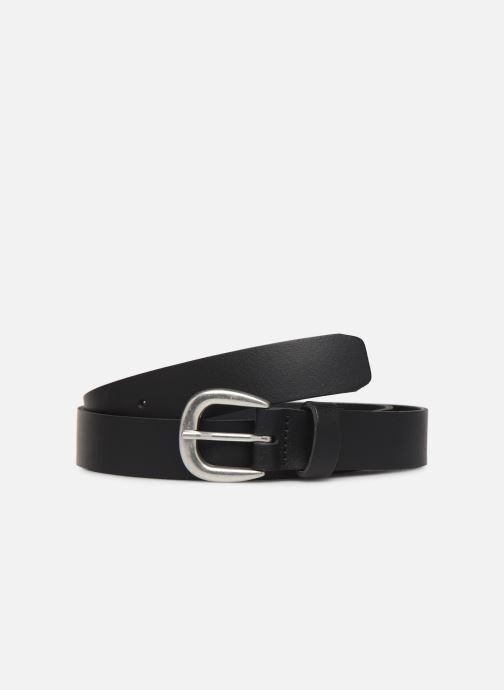 Cinturones Pieces LICIA LEATHER JEANS BELT 2,3 cm Negro vista de detalle / par