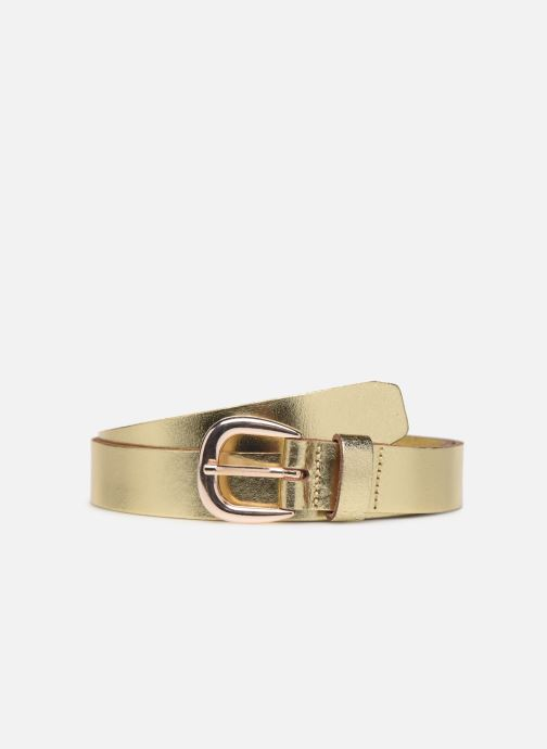 Cinturones Pieces LICIA LEATHER JEANS BELT 2,3 cm Oro y bronce vista de detalle / par