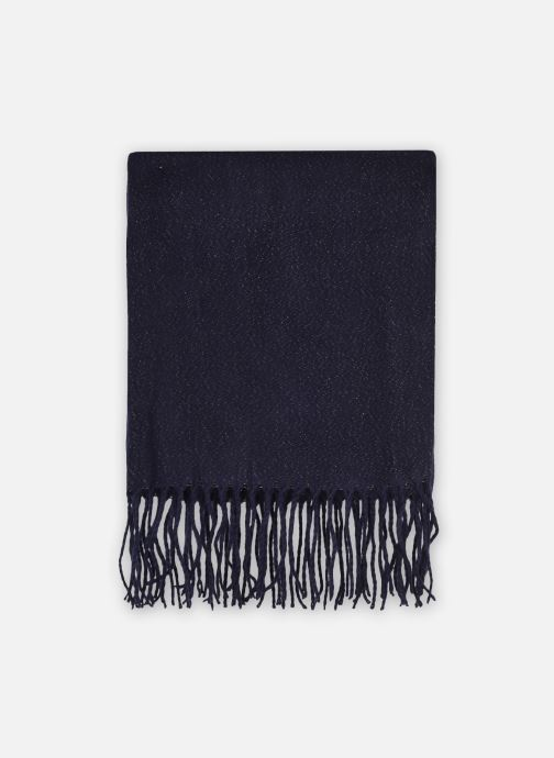 Sjaal Pieces Darlene Square Scarf Blauw detail