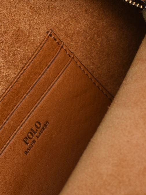 Sacs à main Polo Ralph Lauren HALF MOON Marron vue derrière