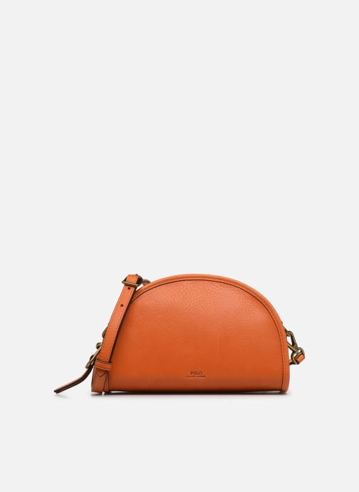 Sacs à main Polo Ralph Lauren HALF MOON Orange vue détail/paire