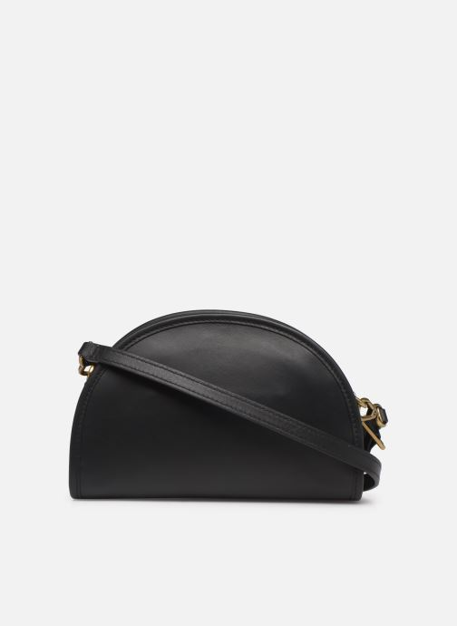 Sacs à main Polo Ralph Lauren HALF MOON Noir vue face
