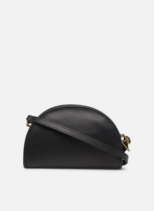Handbags Polo Ralph Lauren HALF MOON Black front view