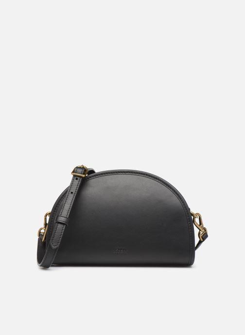 Handtassen Polo Ralph Lauren HALF MOON Zwart detail