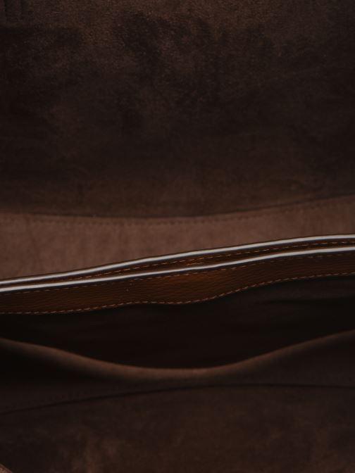 Handtaschen Polo Ralph Lauren SMALL LENNOX TOTE braun ansicht von hinten