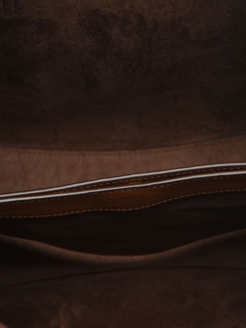 Sacs à main Polo Ralph Lauren SMALL LENNOX TOTE Marron vue derrière
