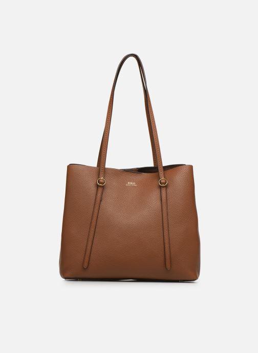 Handtaschen Polo Ralph Lauren SMALL LENNOX TOTE braun detaillierte ansicht/modell