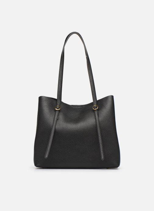 Handbags Polo Ralph Lauren SMALL LENNOX TOTE Black front view