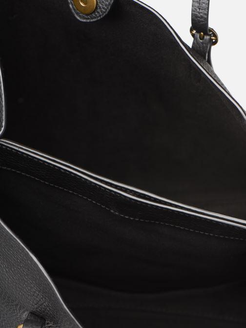 Sacs à main Polo Ralph Lauren SMALL LENNOX TOTE Noir vue derrière